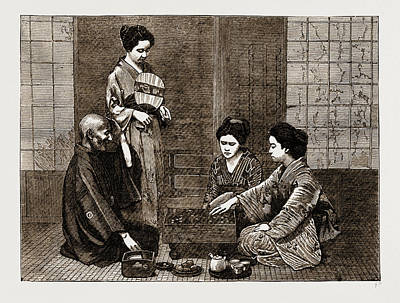 A Chinese Chess Party Poster by Litz Collection