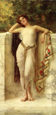 A Classical Beauty Poster by William Clarke Wontner