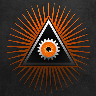 A Clockwork Orange Eye Poster