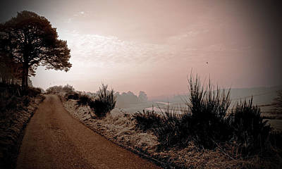 Poster featuring the photograph A Cold And Frosty Morning by Liz  Alderdice