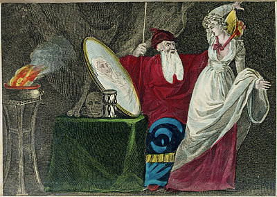 A Conjuror Poster by British Library