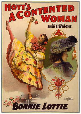 A Contented Woman Poster by Terry Reynoldson
