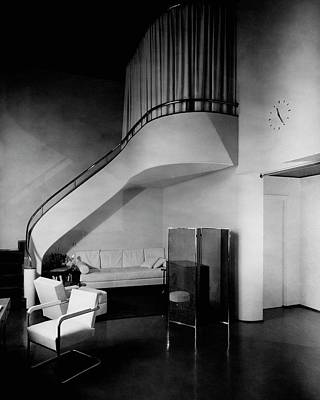 A Corner Staircase Poster by Gomez