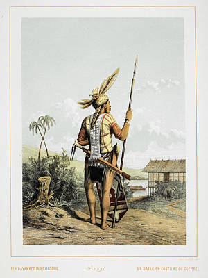 A Dayak Poster by British Library