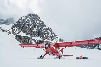 A Dehavilland Beaver Ski Plane Poster