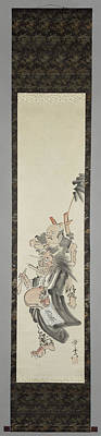 A Devil As A Mendicant, Kawanabe Kyosai, 1850 - 1889 Poster by Litz Collection