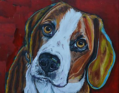 A Dogs World Poster by Patti Schermerhorn