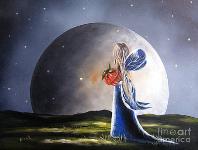 A Fairy Tale By Shawna Erback Poster by Shawna Erback
