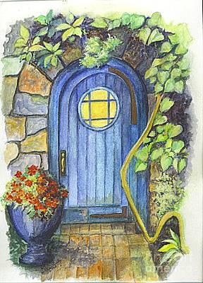 A Fairys Door Poster by Carol Wisniewski