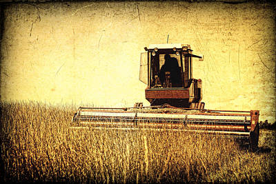 A Field For Harvest Poster