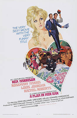 A Flea In Her Ear, Us Poster Art, Top Poster