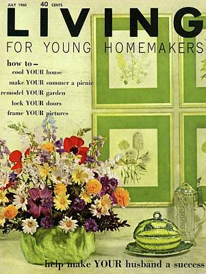 A Floral Arrangement Poster