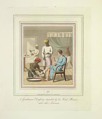 A Gentleman Dressing Poster