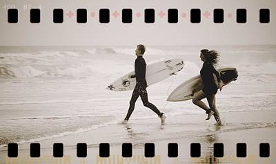 Poster featuring the photograph A Good Day To Surf by Alice Gipson