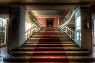 A Grand Stair Way Poster