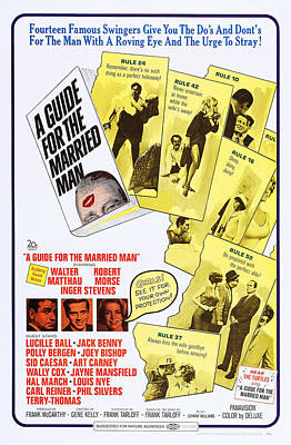 A Guide For The Married Man, Us Poster Poster by Everett