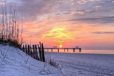 A Gulf Shores Sunrise Poster by JC Findley