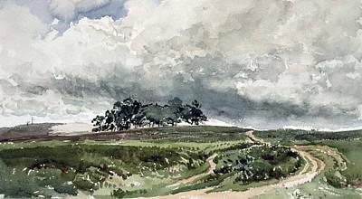 A Heath Scene Poster