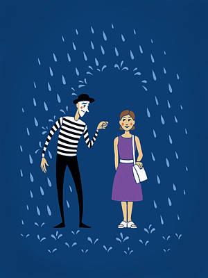 Poster featuring the digital art A Helping Hand by Ben Hartnett
