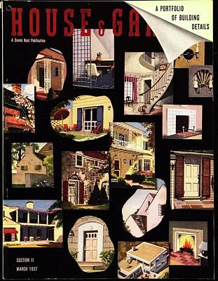A House And Garden Cover Of House Details Poster