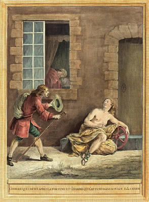 A.-j. De Fehrt After Jean-baptiste Oudry French Poster by Litz Collection