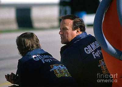 A. J. Foyt At Indy Poster