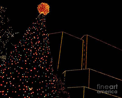 A James Center Christmas Poster by Nancy Dole McGuigan