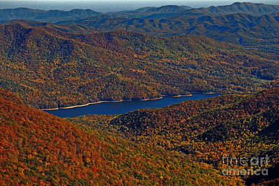 A Jewel On The Smokies Poster by Skip Willits