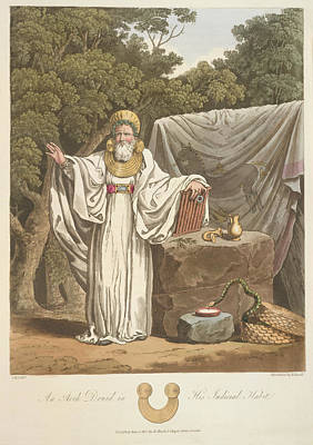 A Judicial Druid Poster by British Library