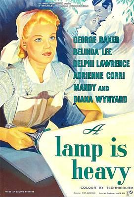 A Lamp Is Heavy, Aka The Feminine Poster by Everett