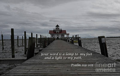 A Lamp To My Feet Poster by Debra Johnson