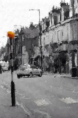 A Light On A Grey Day Poster by Steve K