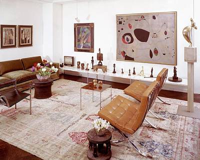 A Living Room Full Of Art Poster by Wiliam Grigsby