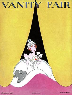 A Magazine Cover For Vanity Fair Of A Woman Poster by A. H. Fish