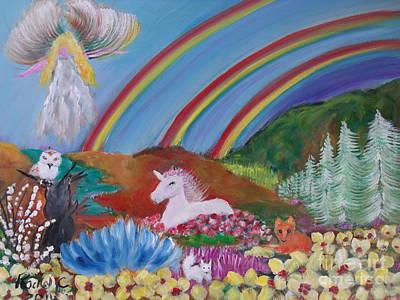 A Magic Place Poster by Rachel Carmichael