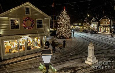 A Maine Christmas Poster by Joe Faragalli