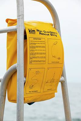 A Man Overboard Rescue Sling Poster