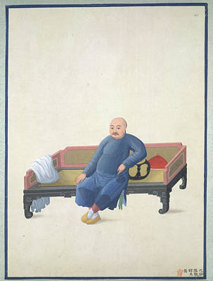 A Merchant Of Canton Poster by British Library