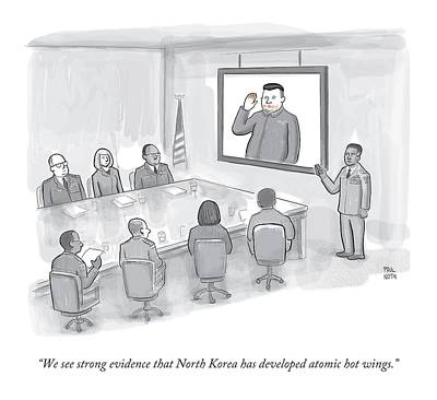 A Military Briefing Poster by Paul Noth