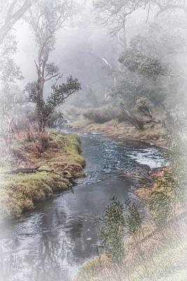 A Misty Morning In Bridgetown Poster