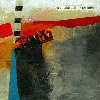 A Multitude Of Reasons Poster by Jane Davies