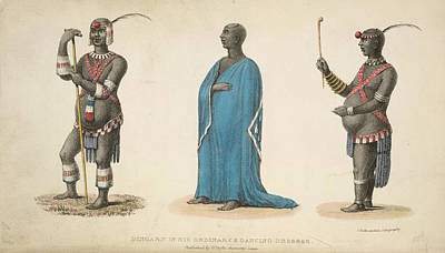 A Native In Costume Poster