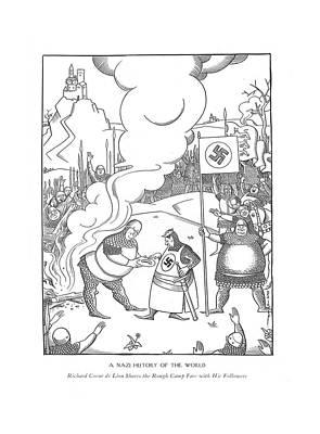 A Nazi History Of The World Richard Coeur De Lion Poster