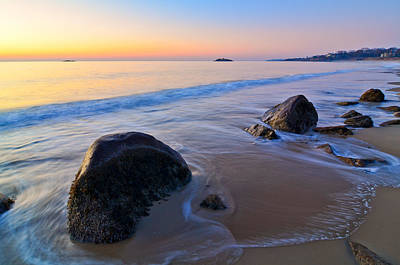A New Day Singing Beach Poster by Michael Hubley