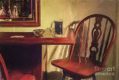 A Nice Mug O' Stout At The Pub Poster by Diane Diederich
