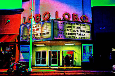 A Night At The Lobo Poster