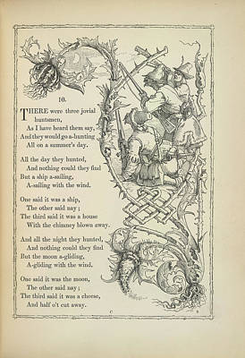 A Nursery Rhyme Poster by British Library