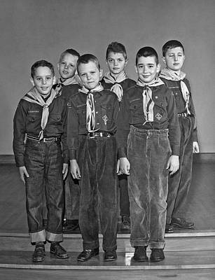 A Pack Of Cub Scouts Poster