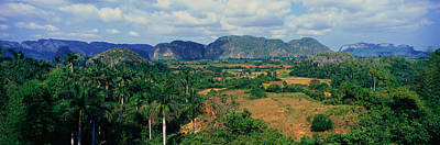 A Panoramic View Of The Valle De Poster by Panoramic Images