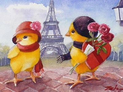 A Paris Valentine Poster
